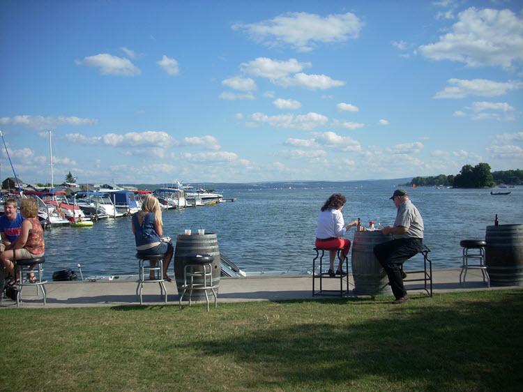 At the Inn on the Lake Canandaigua