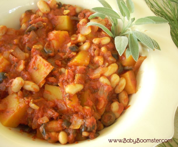Baby Boomer Recipes | Vegetarian | Butternut Squash Stew