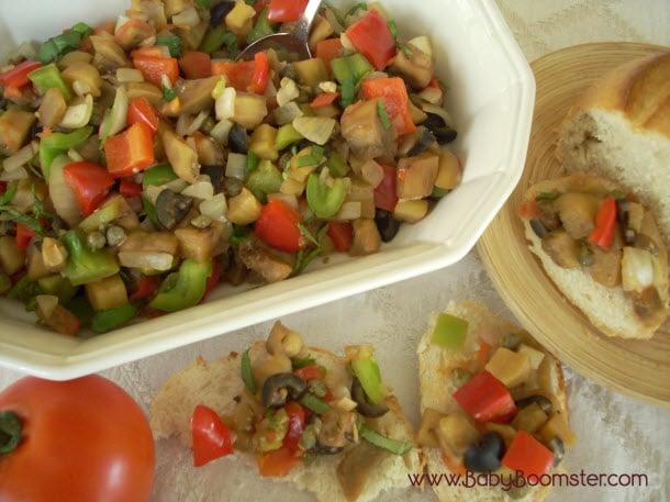 Baby Boomer Recipes | Eggplant Caponata