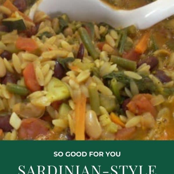 Sardinian-Style Minestrone Soup