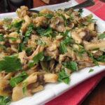 Spanish Style Sauteed Mushrooms
