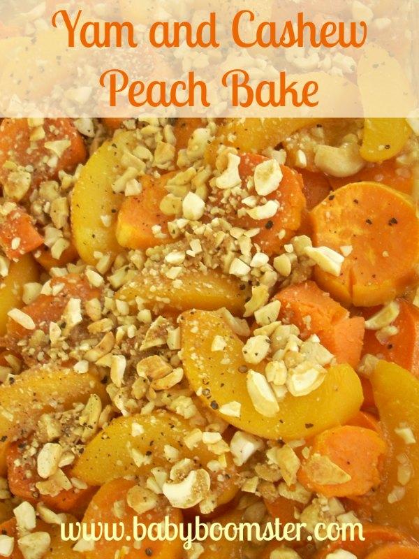 Baby Boomer Recipes | Holidays | Yam and Cashew Peach Bake