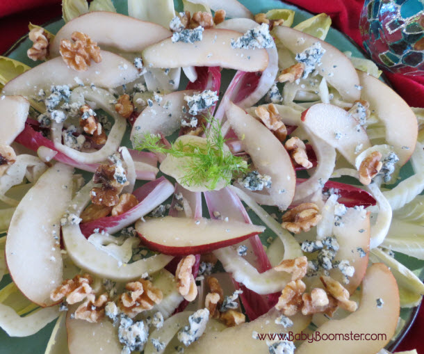 Radicchio and Arugula Salad Belgium Endive Fennel and Pear Salad ...