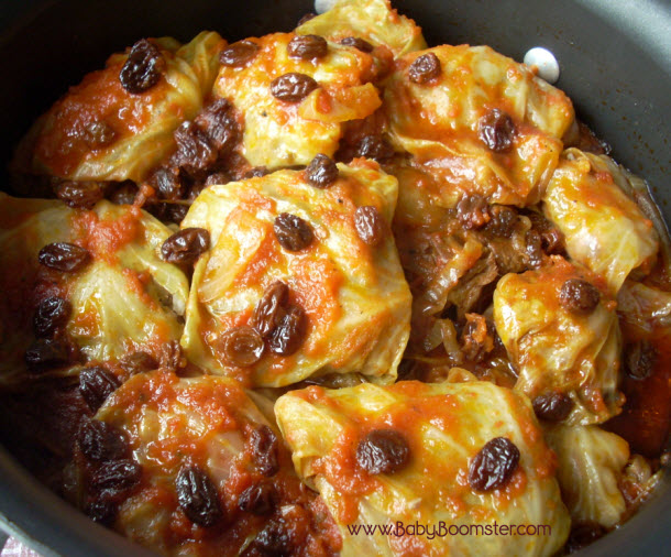 Baby Boomer Recipes   Russian Style Stuffed Cabbage