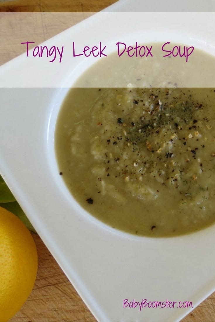 Baby Boomer Recipes | Soup | Tangy Leek Detox Soup