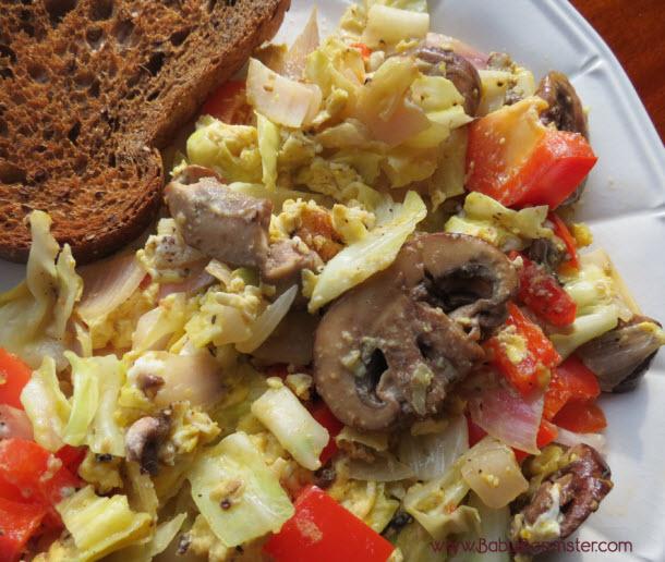 Vegetable Egg Omelette