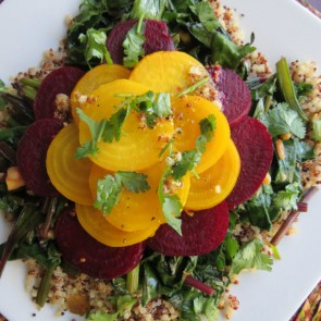 Baby Beet and Quinoa Salad