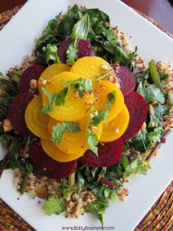 Baby Boomer Recipes   Salad   Baby Beet - Quinoa