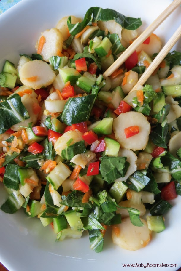 Baby Boomer Recipes | Salad | Chinese Coleslaw