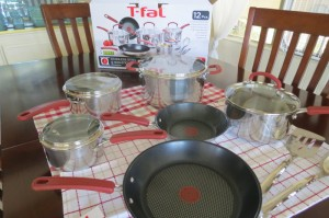 T-Fal Cookware 12 Piece Set