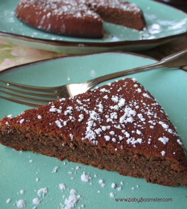 Baby Boomer Recipes   Chocolate Almond Torte