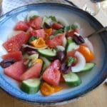 Baby Boomer Recipes | Watermelon Vegetable Salad