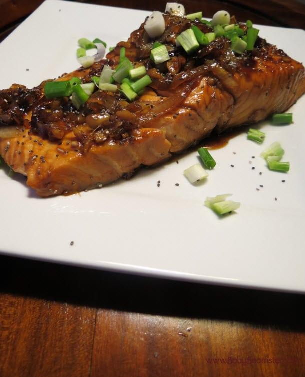 Baby Boomer Recipes | Seafood | Whiskey Glazed Salmon
