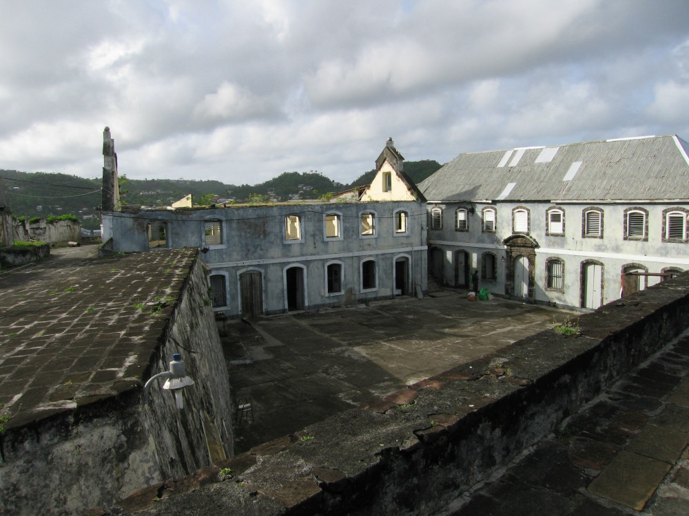 Fort Rupert in Grenada where the invasion and where the execution of Prime Minister Maurice Bishop and seven others, including cabinet minister