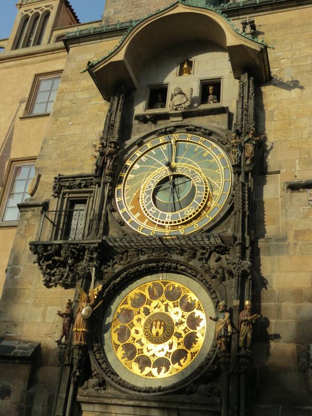 Astronomical Clock in Wenceslas Square - Prague