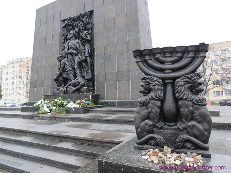 Jewish Memorial Warsaw Poland