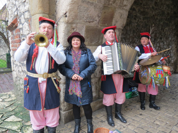 Krakow Street Musicians - winter travel
