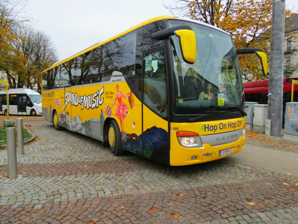 The Sound of Music Tour Bus