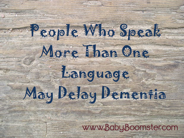 People Who Speak More Than One Language May Delay Dementia