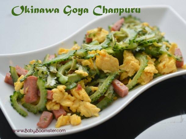 Baby Boomer Recipes   Japanese   Okinawa Goya Chanpuru Stir Fry