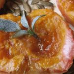Apple cups with pumpkin recipe