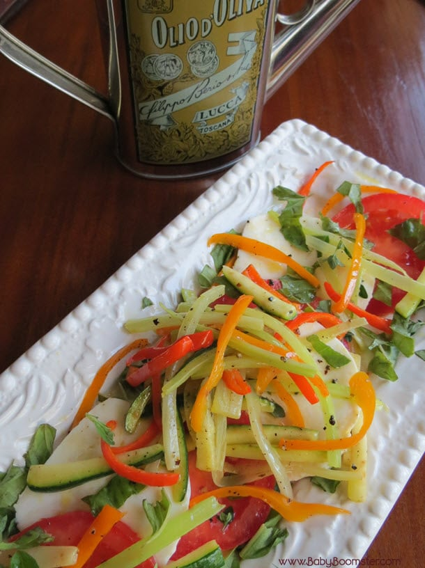 Baby Boomer Recipes | Salad | Caprese Salad