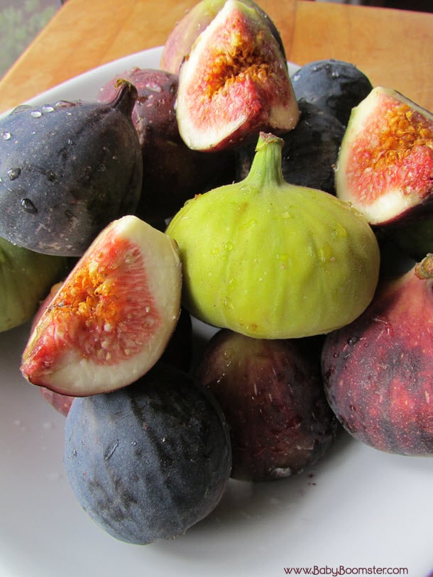 Baby Boomer Recipes | Figs | Make a fig salad