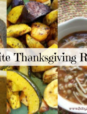 My Favorite Thanksgiving Recipes Roundup
