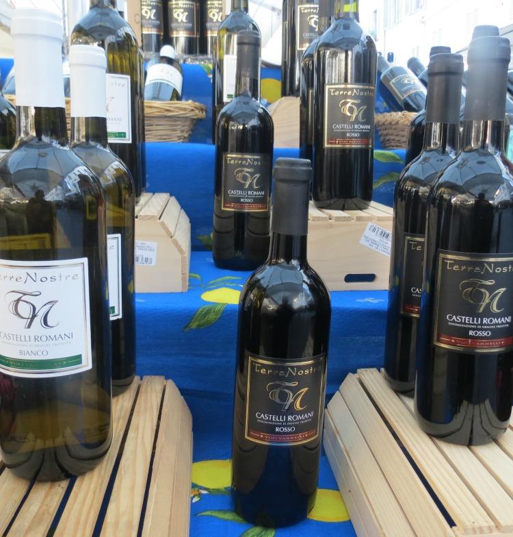 Baby Boomer Travel   Italy   Campo di Fiori - Italian wine