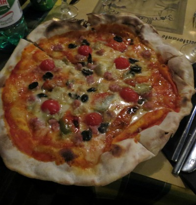 Pizza we made in Rome