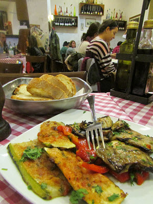 Roasted Vegetables in Rome