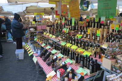 Vendors in Italian Food Market - Balsamic Vinegar