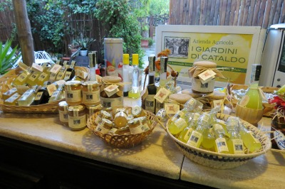 Limoncello Products from Sorrento Italy