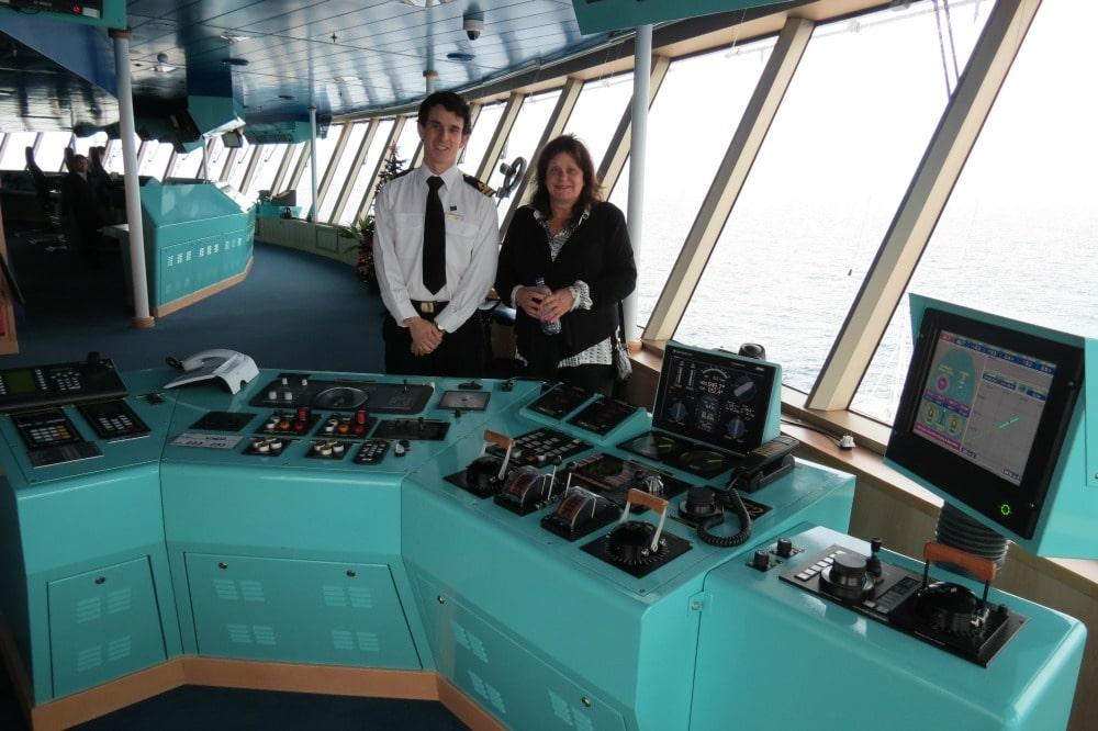Baby Boomer Travel   Cruising   Queen Elizabeth Bridge