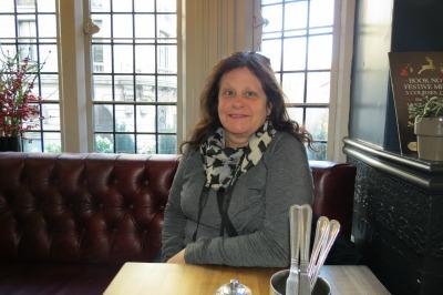 Rebecca at Wellington Pub London
