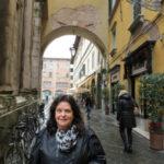 Rebecca in Lucca Italy