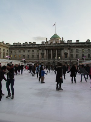 Somerset House Skating London