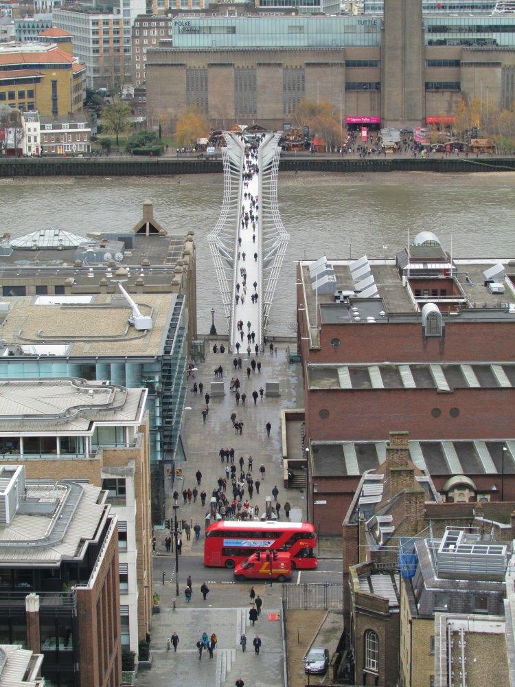 Baby Boomer Travel | London | Millennium Bridge