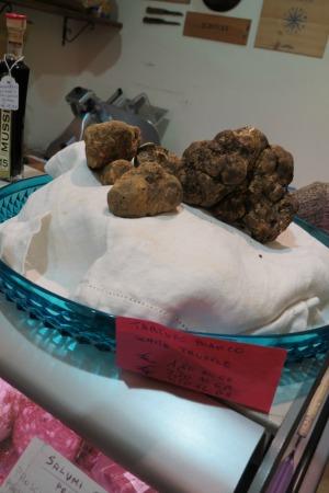 White Truffles in Siena Italy