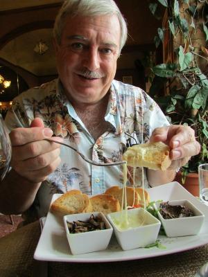 How to eat like an Italian - Doug is trying it.