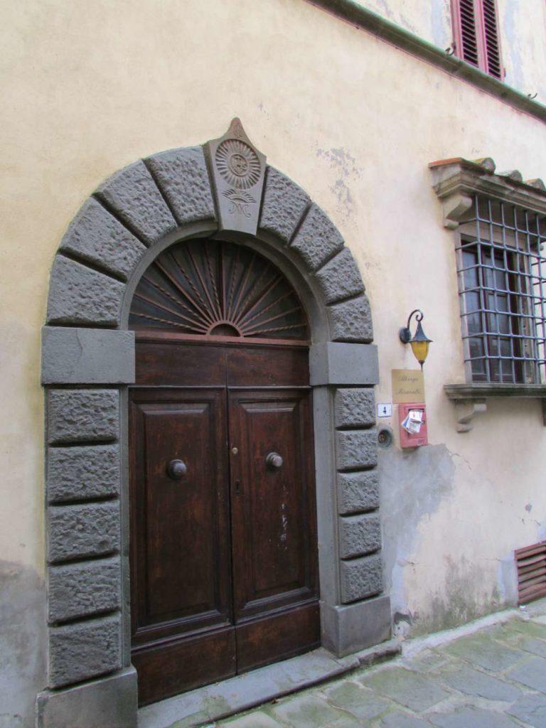 Door in Montecatini Alto, Italy