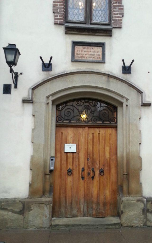 Door in Krakow Poland