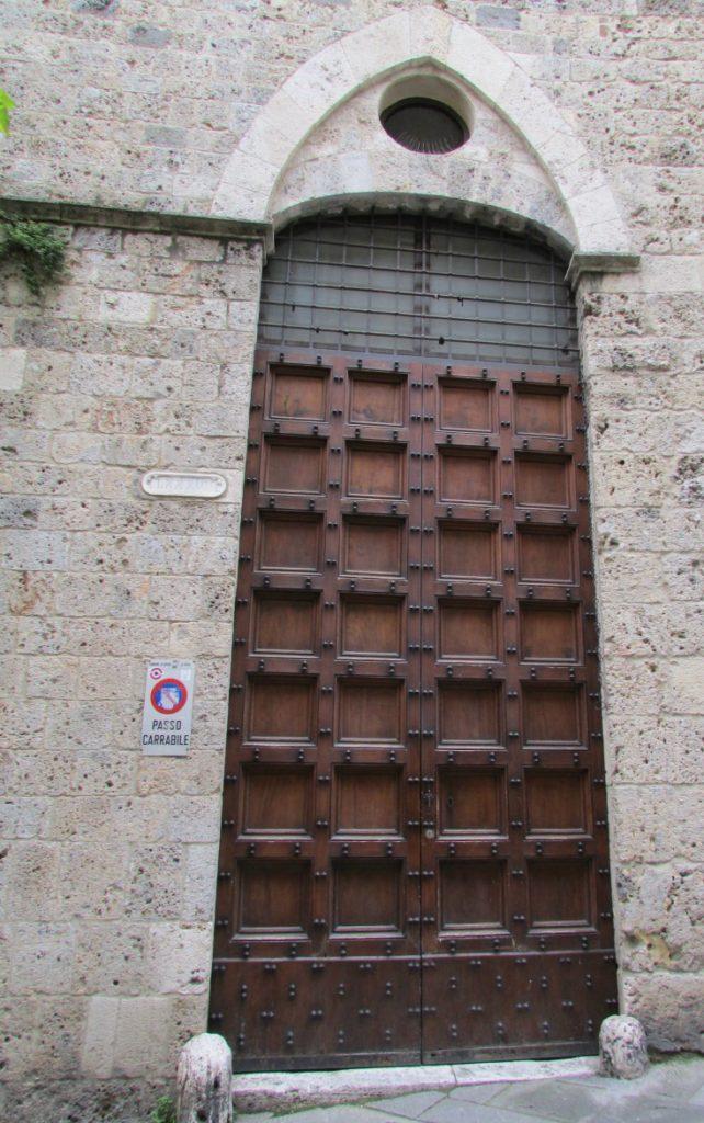 Door in Siena