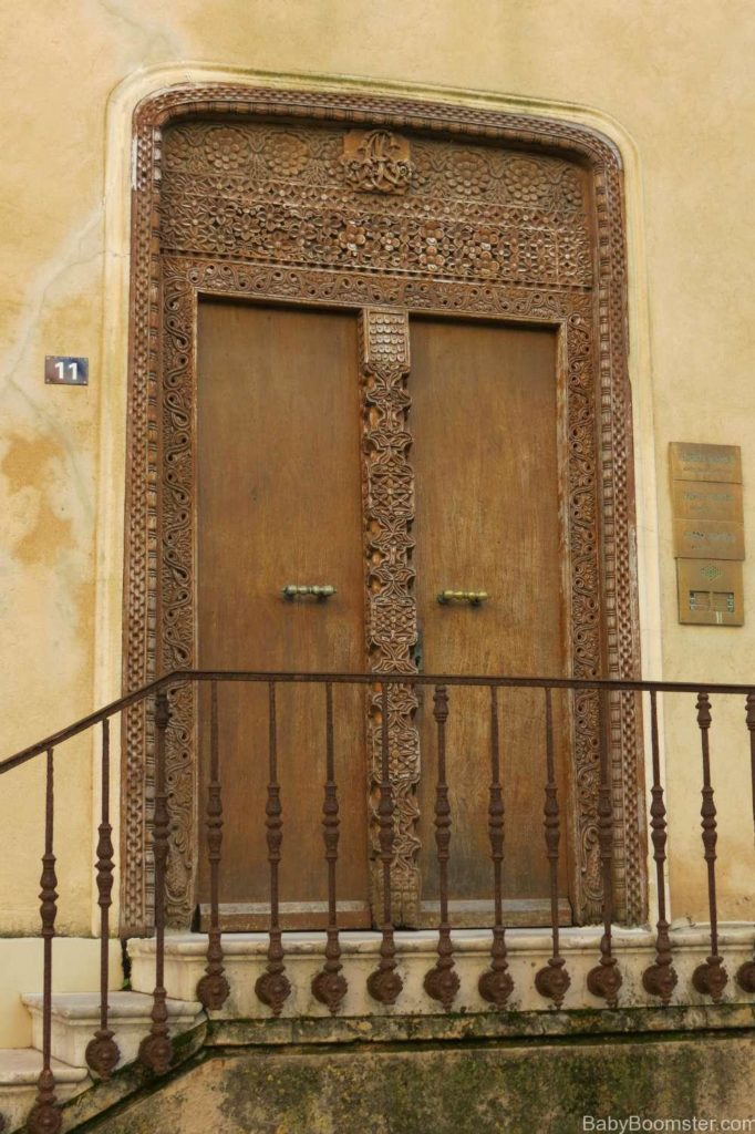Door in St Tropez