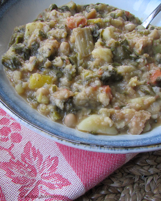 Baby Boomer Recipes   Tuscan Vegetable Soup