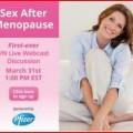 Sex after menopause webcast