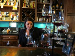Fazeli Cellars wine tasting room