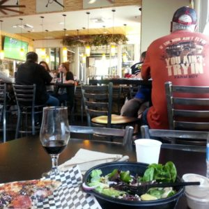 Diners at Garage Brewing Company in Temecula