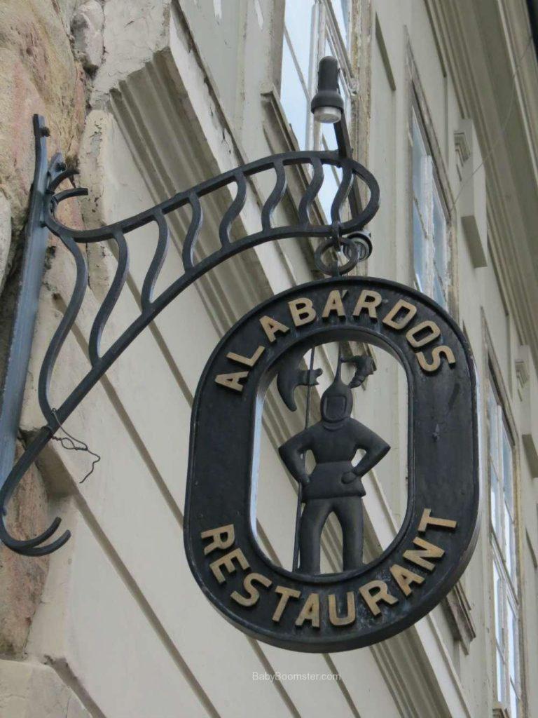 Baby Boomer Travel   Hungary   Alabdos sign - Budapest