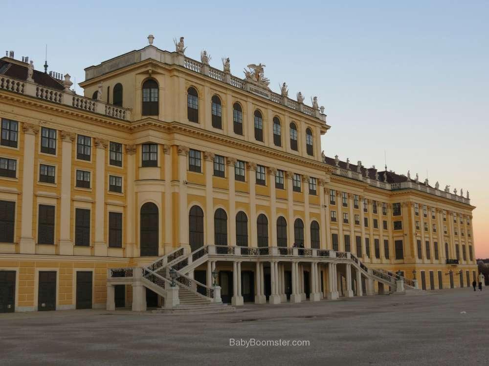 Baby Boomer Travel   Austria   Vienna - Schonbrunn Palace